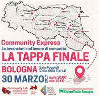 Community Express: tappa finale