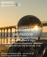 Osservare la valutazione - con il prof. Claudio Tonzar