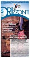 ORIzzonti n. 5/2009 - Governance e ricerca: le strategie regionali