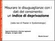 Misurare le disuguaglianze con i dati del censimento: un indice di deprivazione