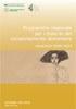 Dossier n. 240/2014 - Programma regionale per i disturbi del comportamento alimentare. Contributi 2009-2012