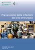 Dossier n. 261/2017 - Prevenzione delle infezioni del sito chirurgico