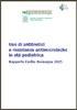 Uso di antibiotici e resistenze antimicrobiche in età pediatrica. Rapporto Emilia-Romagna 2015