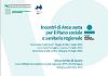 Incontri di Area vasta per il Piano sociale e sanitario regionale. Documento di lavoro