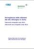 Sorveglianza delle infezioni del sito chirurgico in Italia. Interventi ortopedici anno 2011. Interventi non ortopedici anno 2012